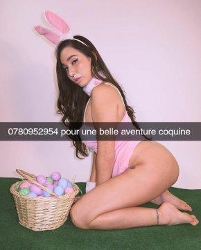 Annonce sexe de Julia une jolie femme de 26 ans de Paris